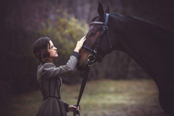Фотосессия с лошадью фото
