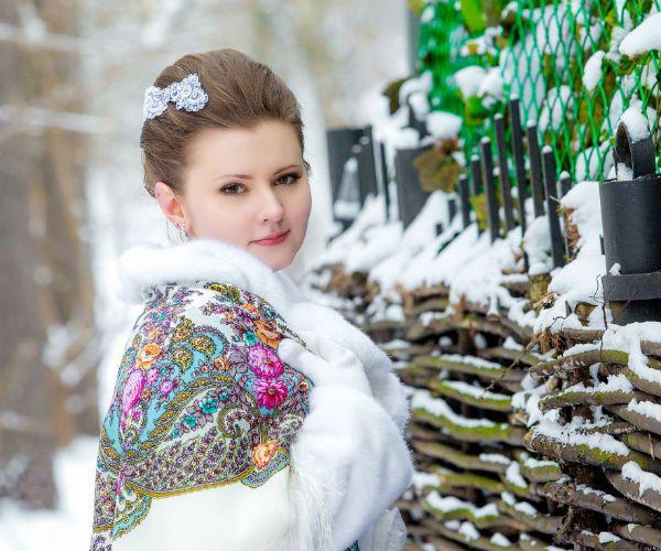 Русская невеста фото