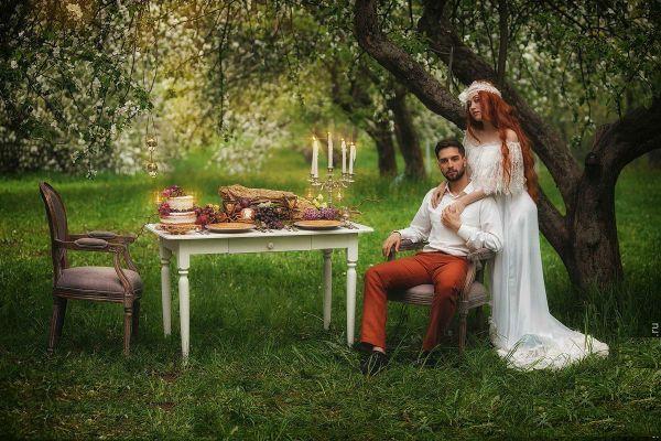 Стиль бохо для свадьбы фото