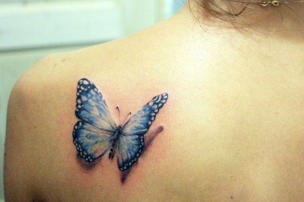 3д бабочка фото