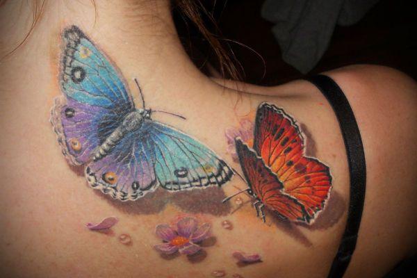 Татуировка Бабочка фото