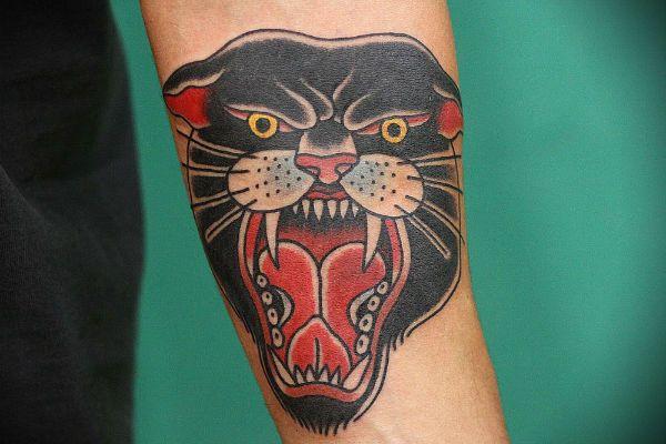 Татуировка Пантера фото