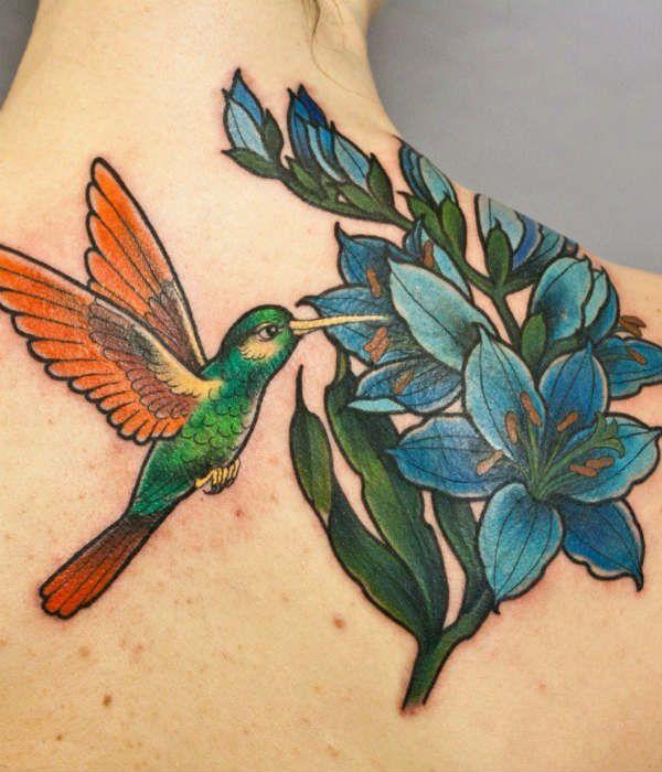 Татуировка цветы фото