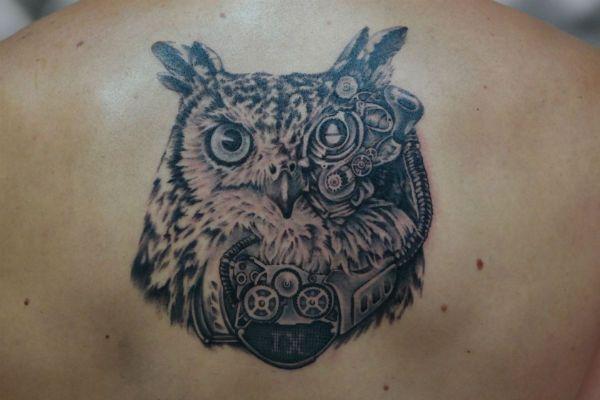 Татуировка Сова фото