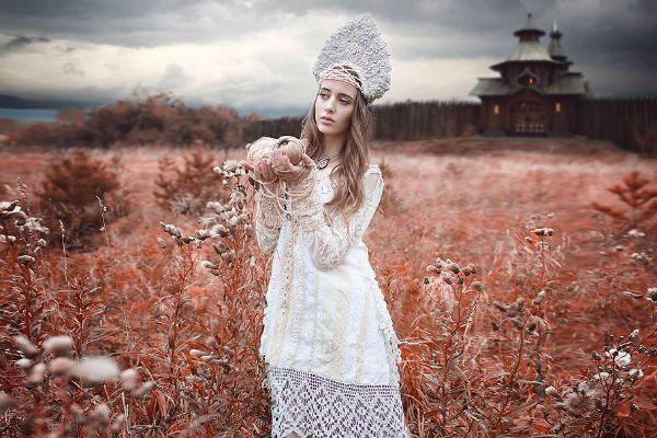 Славянский стиль фото