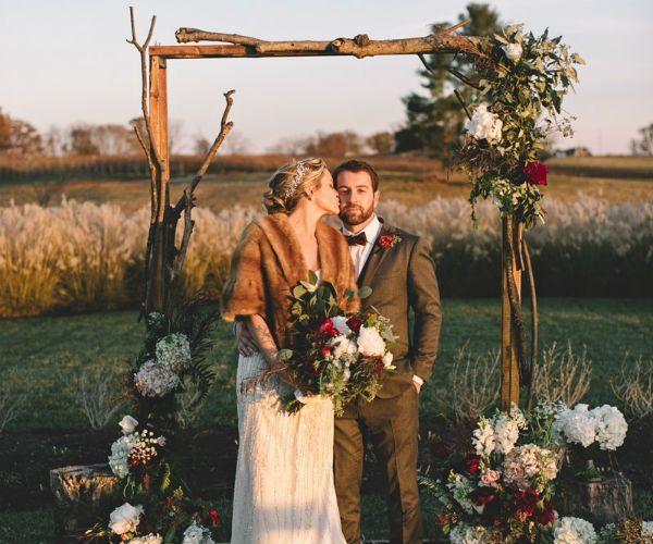 Венчание в поле фото