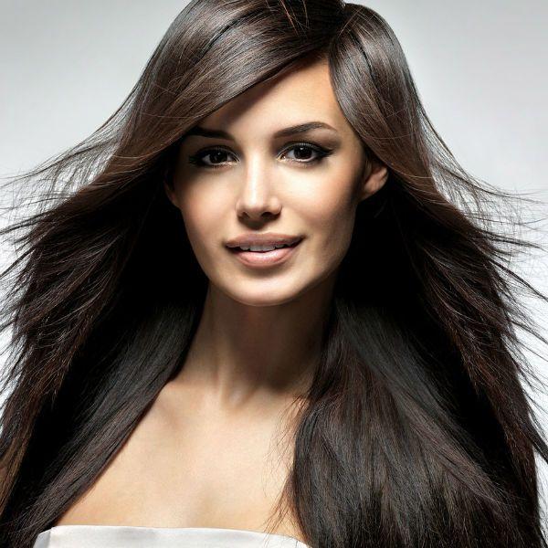 Каскад на средние волосы 3 фото
