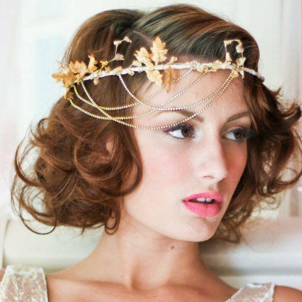 Греческая прическа для коротких волос фото
