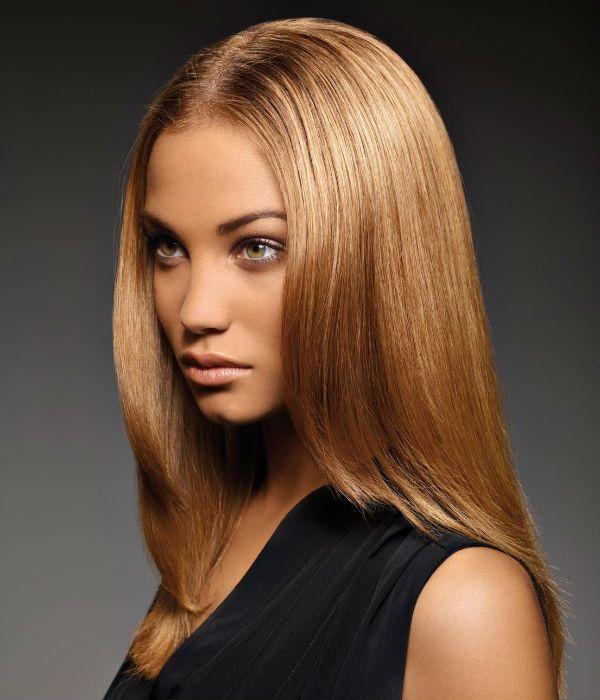 Лесенка для средних волос фото