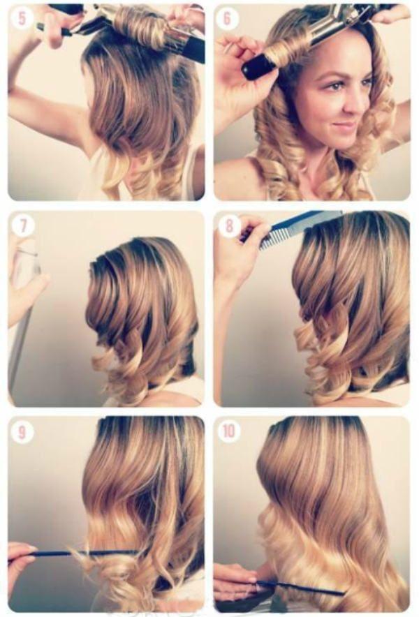Локоны для длинных волос 2 фото