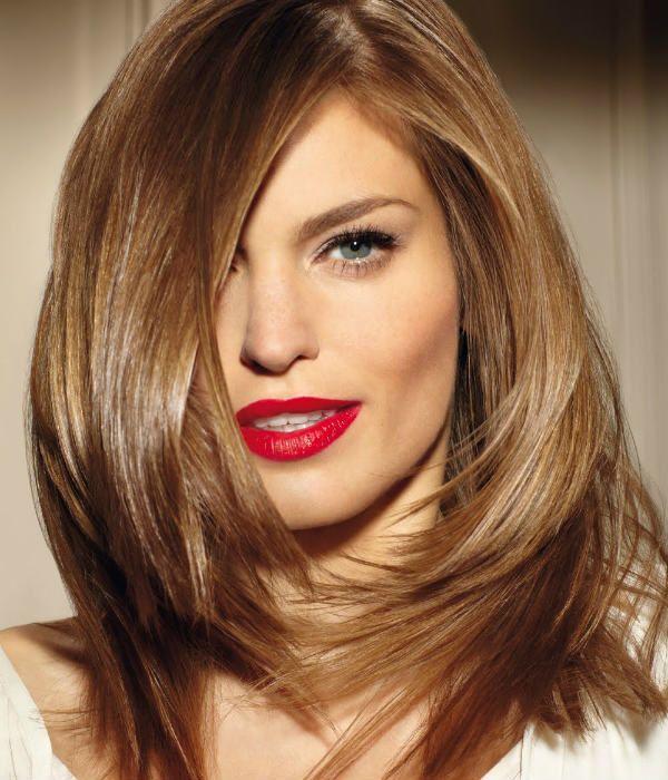 Рапсодия на средних волосах фото