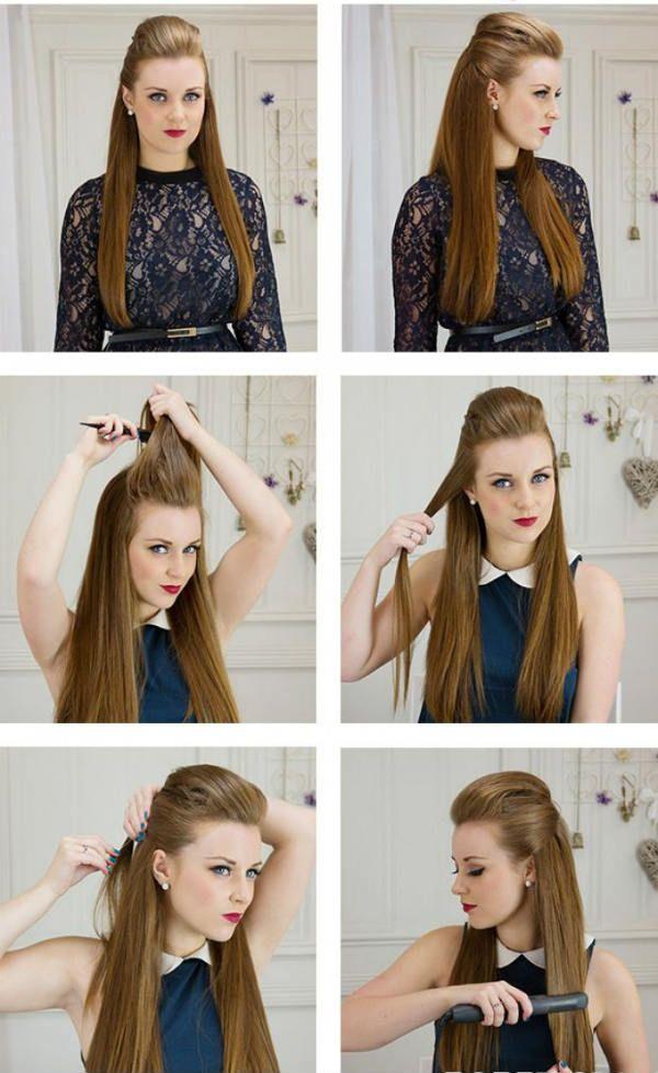 Распущенные волосы фото