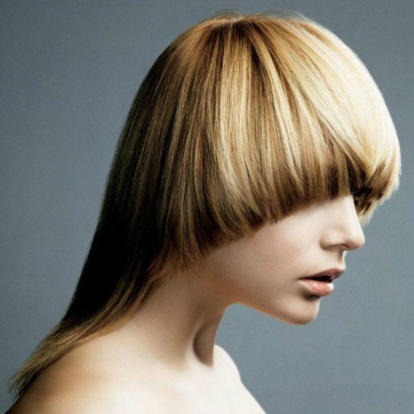 Шапочка на среднюю длину волос фото