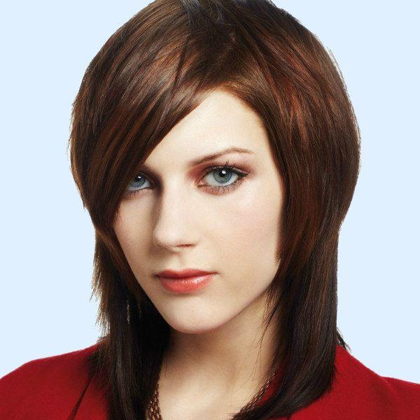 Каре шапочка на среднюю длину волос фото