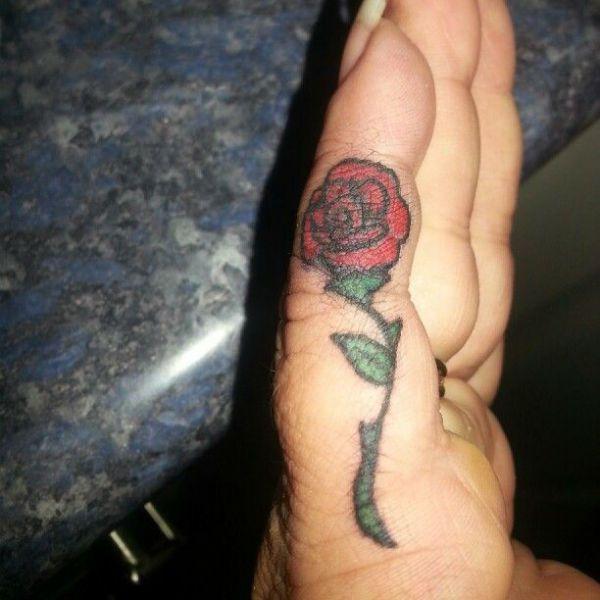 Тату розы фото