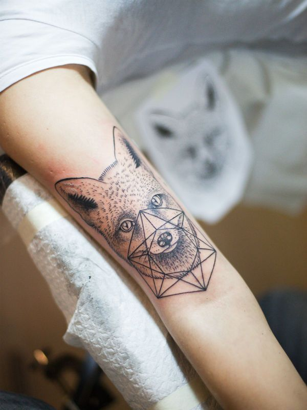 Татуировка Геометрия фото