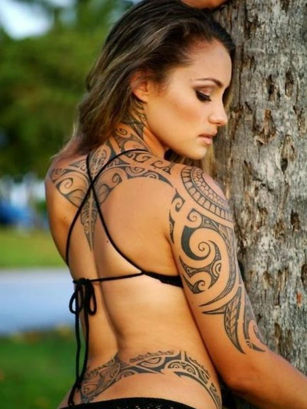 Татуировка Трайбал фото