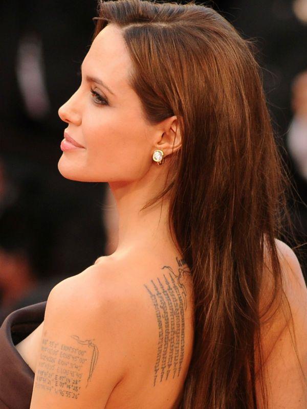 Татуировки Анджелина Джоли фото