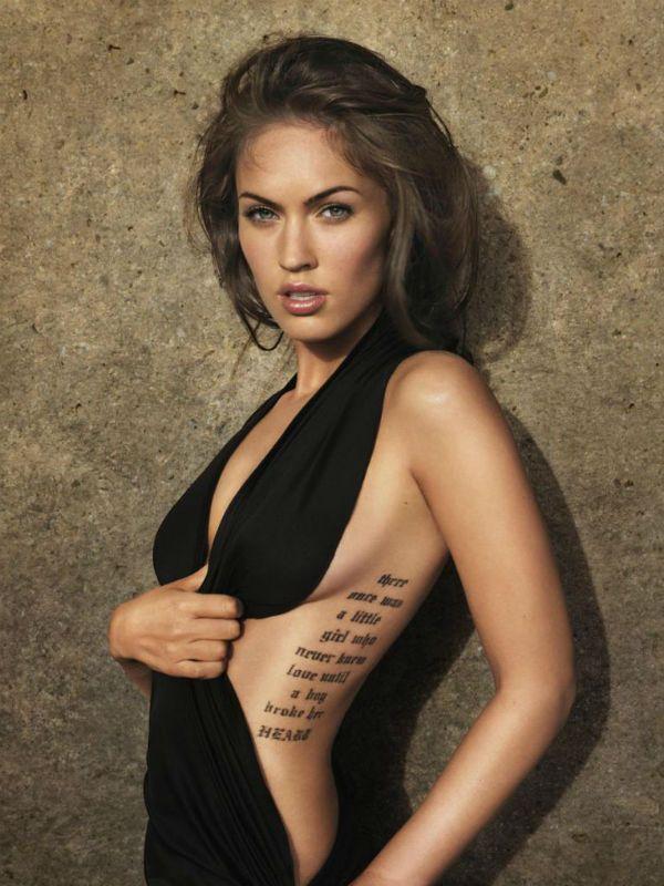 Татуировки Меган Фокс фото