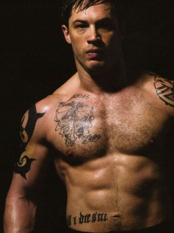 Татуировки Том Харди фото