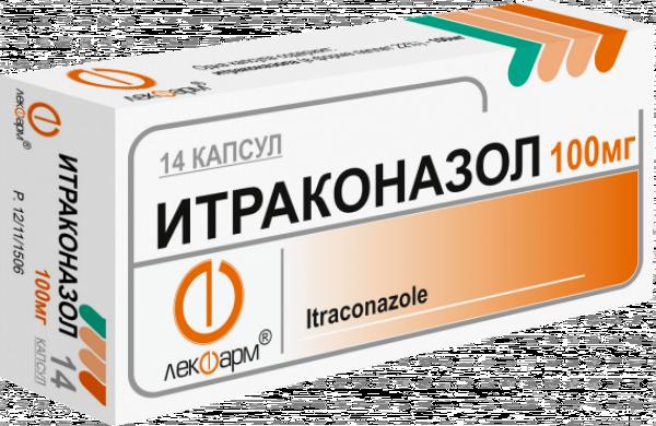 Итраконазол фото