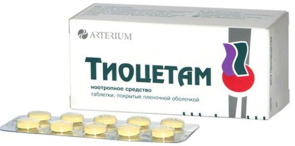 Тиоцетам фото