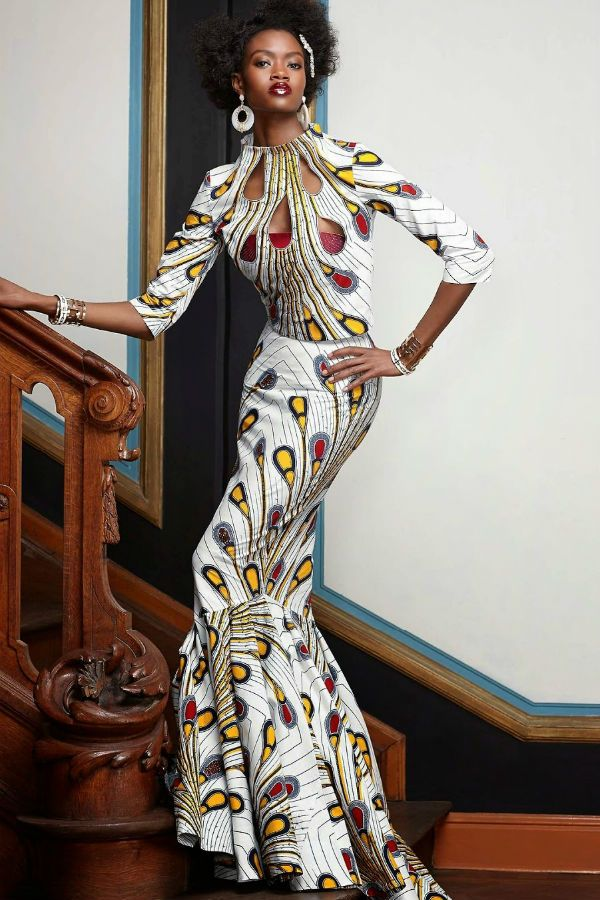 Африканский стиль в одежде фото