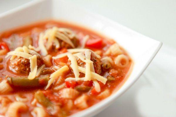 Ароматный суп фото