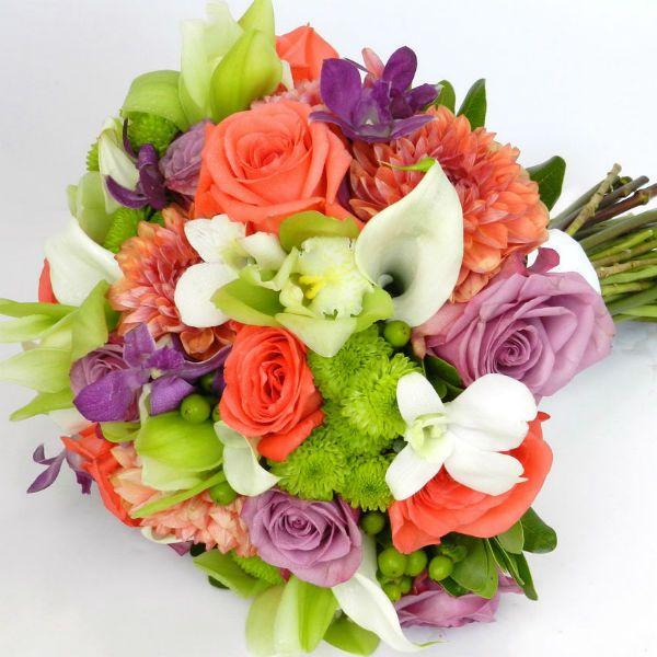 Букет из хризантем 3 фото