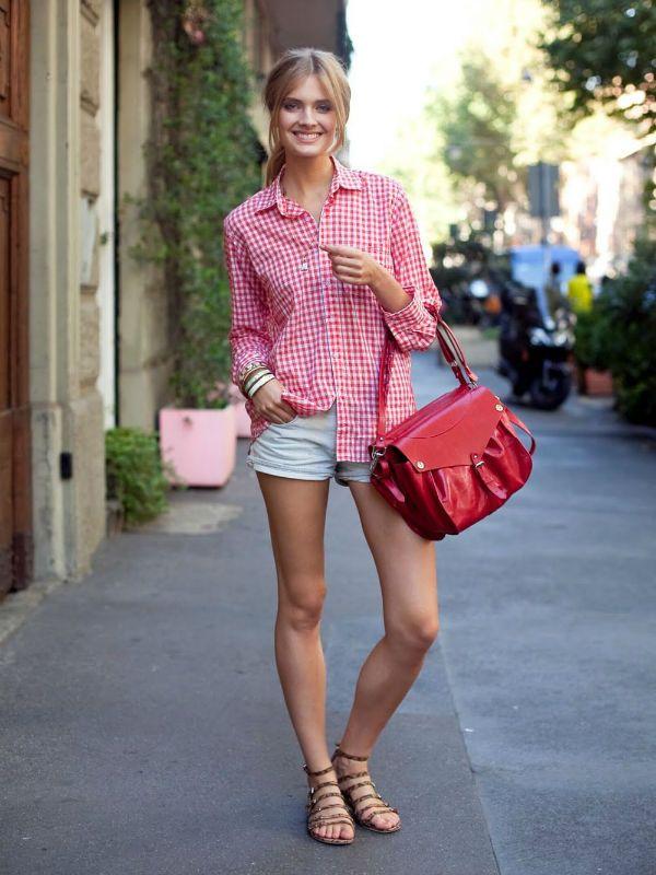 Розовая блуза фото
