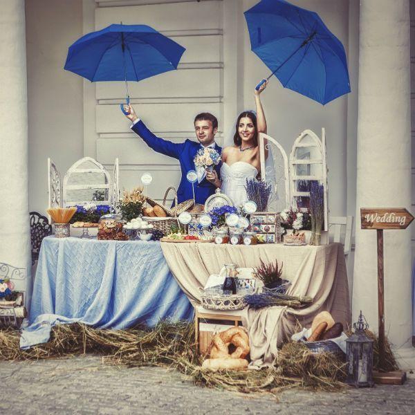 Свадебная фотосессия в стиле прованс фото