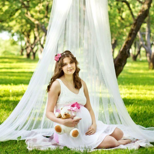 Фотозона для беременных на природе фото