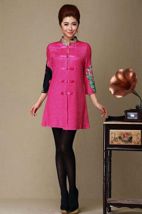 Китайский стиль в одежде фото