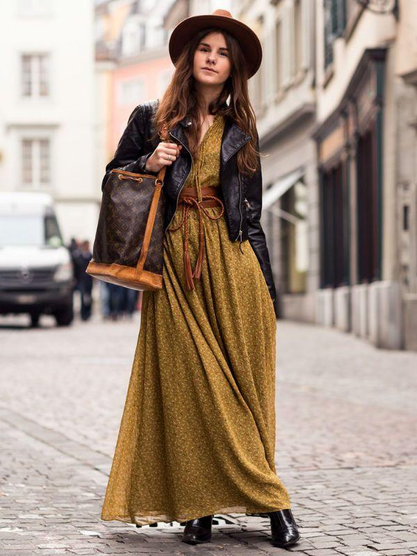 Платье в пол фото