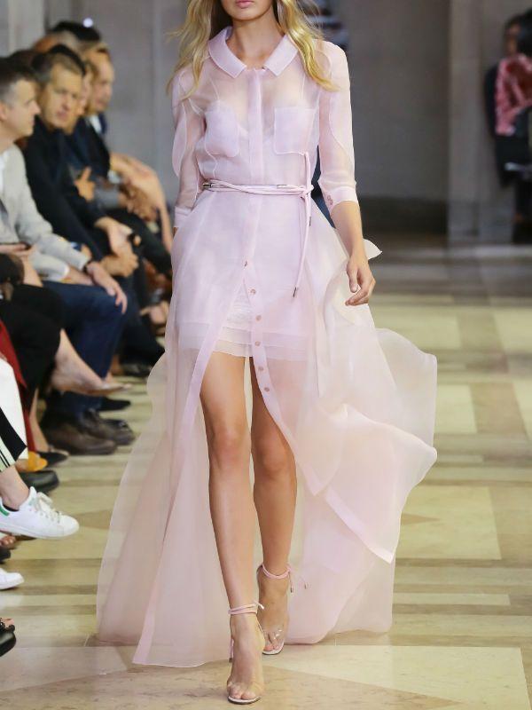 Асимметричное платье фото