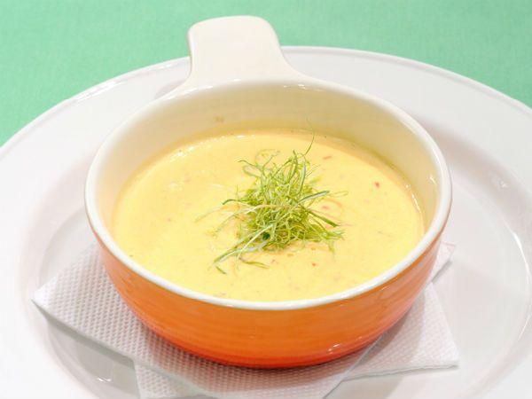 Молочный тыквенный суп фото