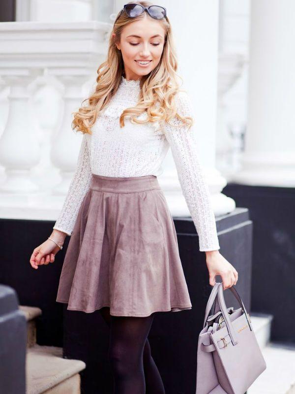 Белая блуза фото