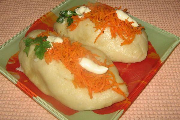 Пигоди – корейские пирожки на пару фото