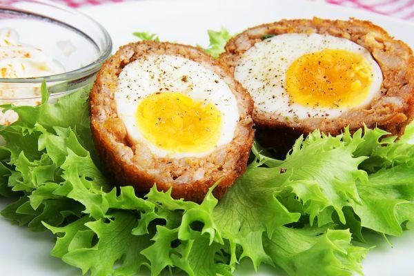 Яйца по-шотландски фото