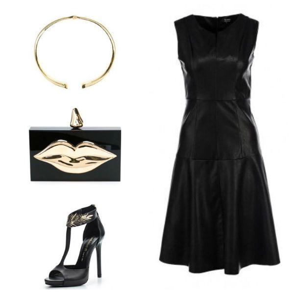 Аксессуары под черное платье 5 фото