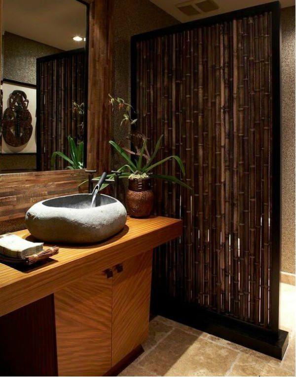 Бамбуковые перегородки 2 фото
