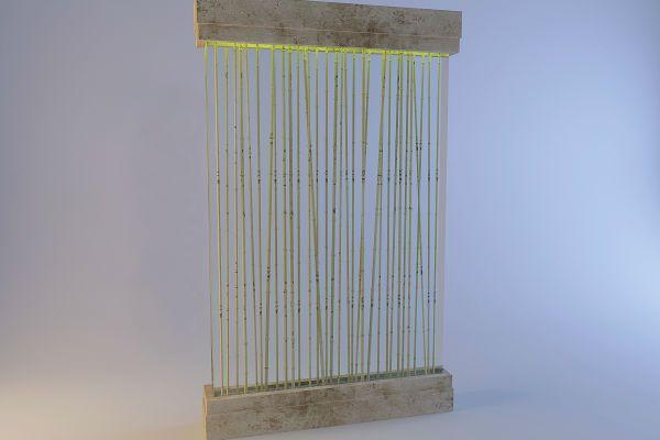 Бамбуковые перегородки 3 фото