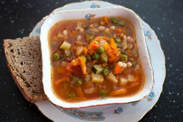 Густой суп фото