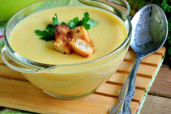 Кабачковый крем-суп фото