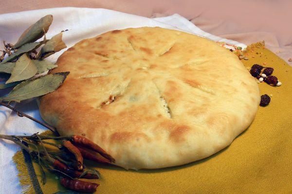 Кабачковый пирог с мортаделлой фото
