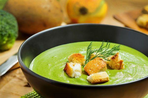 Крем-суп овощной фото