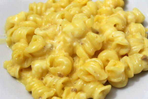 Макароны с сыром фото