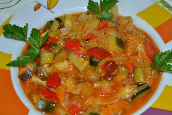 Молдавское овощное рагу фото