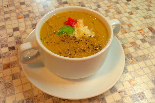 Оранжевый суп фото
