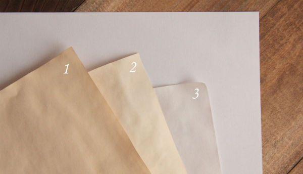 Оттенки бумаги фото